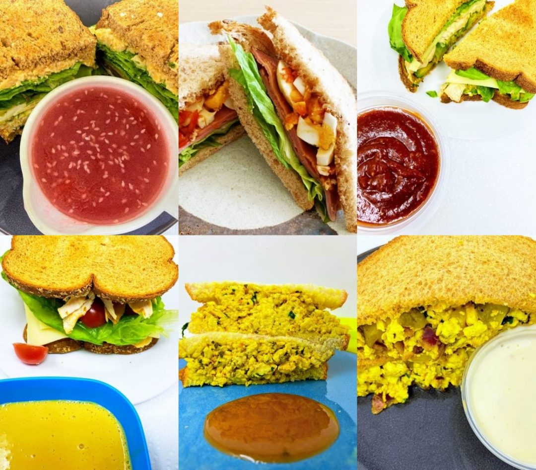 6 Easy Sauce Recipes, Great with Sandwiches!