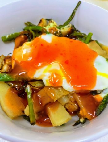 Spicy Orange Sauce for Asparagus Egg Stir Fry