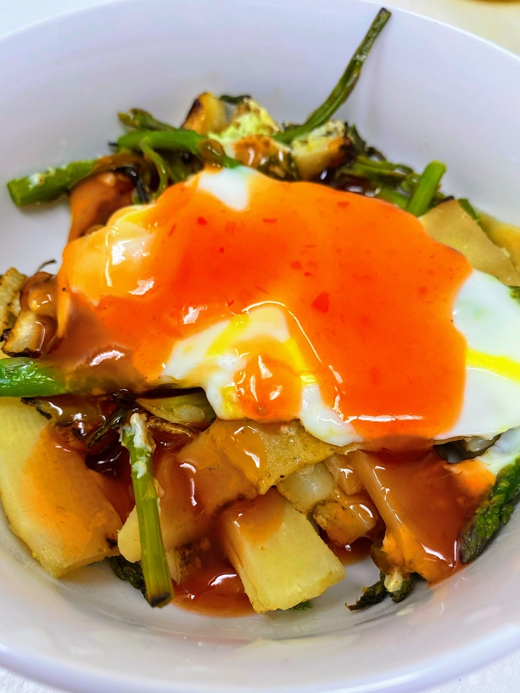 Spicy Orange Sauce for Asparagus Egg Stir Fry