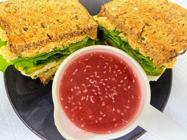 Cranberry Vinegarette Sauce for Chickpea Sandwich
