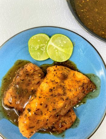 Caribbean Jerk Sauce for Fried Catfish