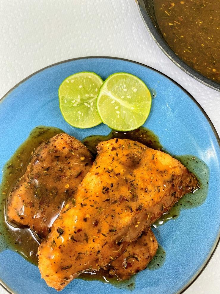 Caribbean Jerk Sauce for Fried Catfish