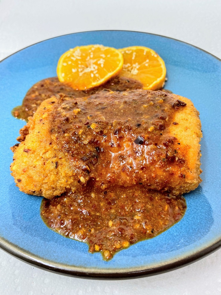 Korean Spice Sauce for Fried Tuna Steaks