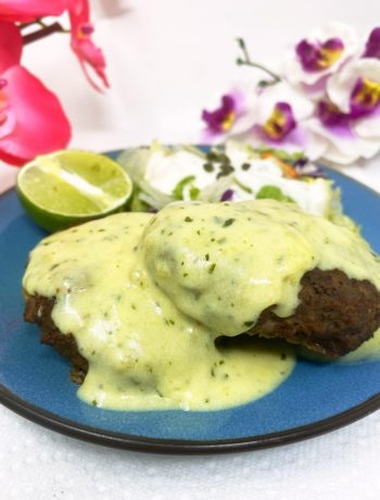 Bearnaise Sauce for Hamburger Steak