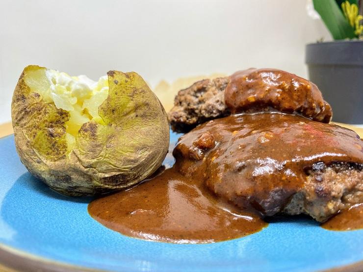 Parmesan Chili Sauce for Hamburger Steak