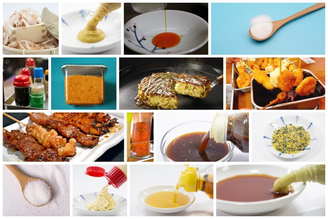 29 Traditional in Japanese Sauces and Seasonings