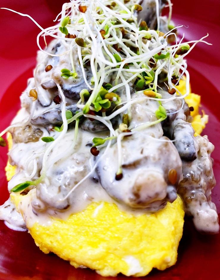 Cream Of Mushroom Sauce for Omelette