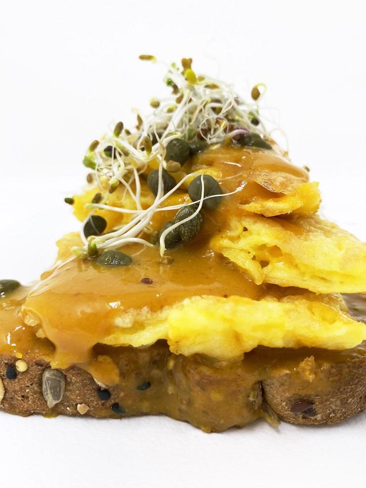 Honey Mustard Sauce for Omelette