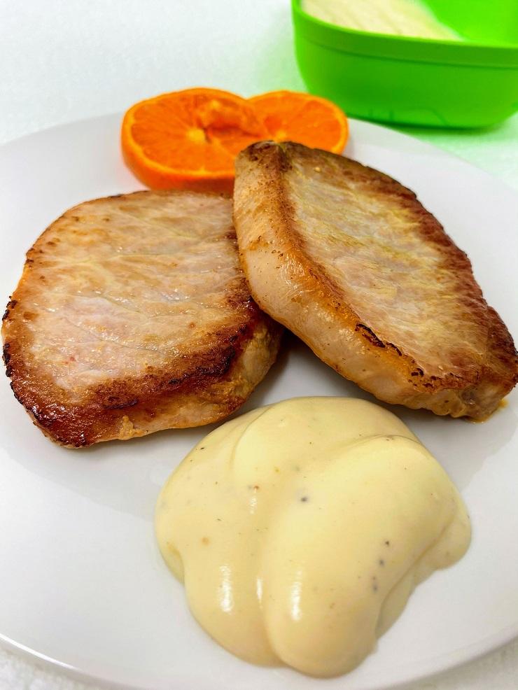 Creamy Horseradish Sauce for Pork Chops