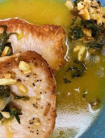 Honey Lemon Sauce for Pork Chops