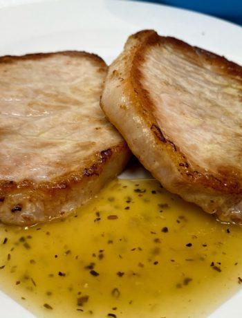 Lemon Pepper Sauce for Pork Chops