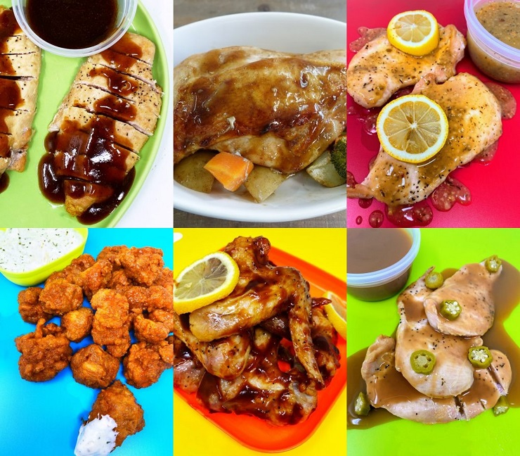 6 Chicken Recipes Using a New Sauce