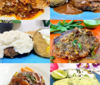 6 Great Sauces for Hamburger Steak