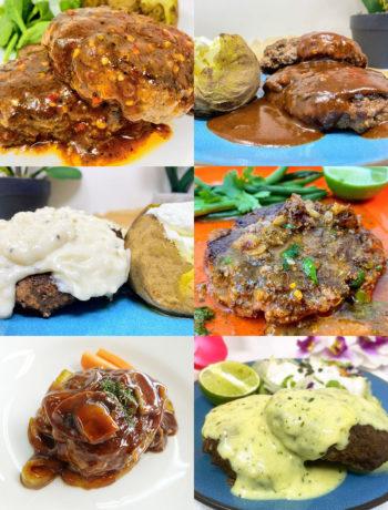6 Great Sauces for Hamburger Steak