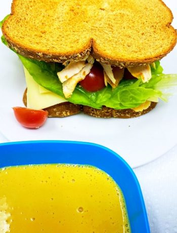 Honey Mustard Sauce for Turkey Mozzarella Sandwich