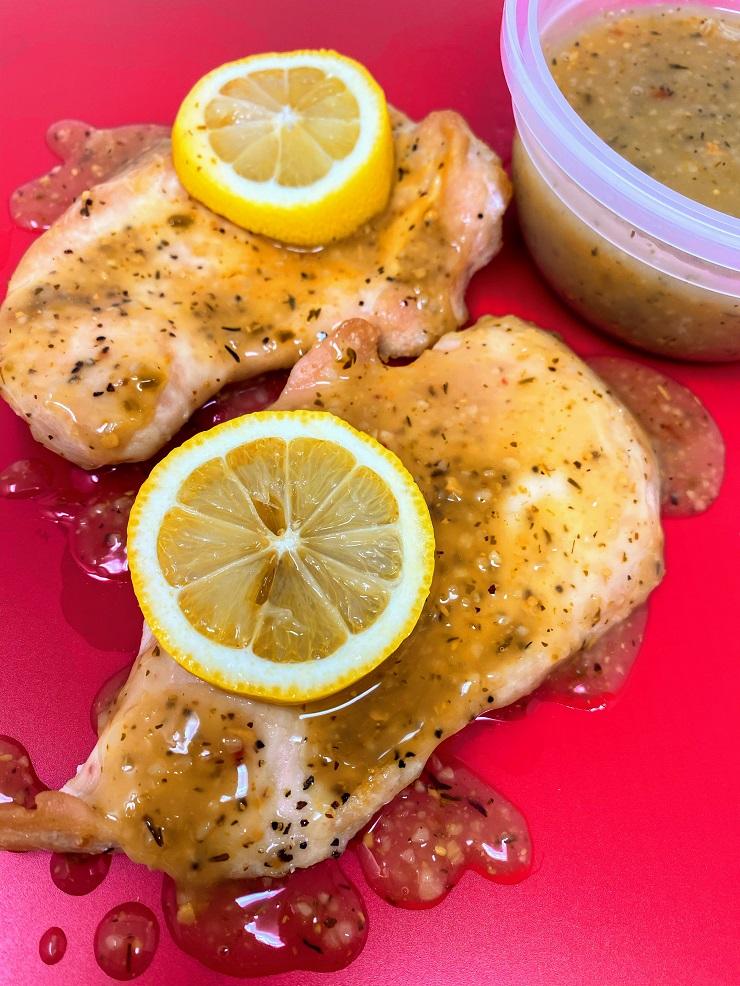 Lemon Butter Sauce for Oven Baked Chicken Breast